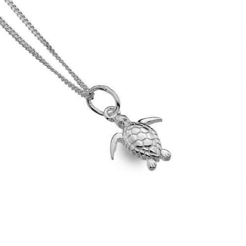 Baby Turtle Pendant Necklace Sterling Silver 925 Hallmark All Chain Lengths